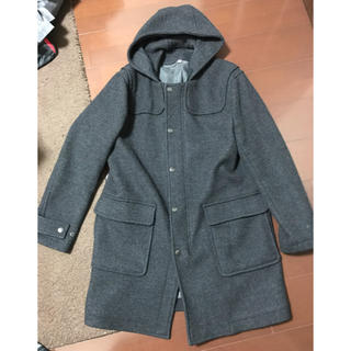 MUJI (無印良品) - 中古 無印良品 フード付きウールコート
