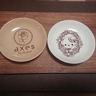アクシーズファム(axes femme)の小皿 【新品未使用】axes femme ノベルティ 2柄セット(ノベルティグッズ)