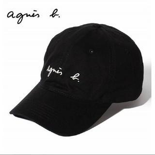 アニエスベー(agnes b.)の新品アニエスベー  ロゴキャップ コットン帽子(キャップ)