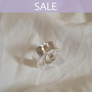 トゥモローランド(TOMORROWLAND)の【再入荷】925 matte ring *(リング(指輪))