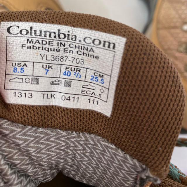 Columbia(コロンビア)のお値下げ!Columbia  マウンテンブーツ アウトドア トレッキング スポーツ/アウトドアのアウトドア(登山用品)の商品写真