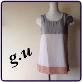 ジーユー(GU)のこっくりカラー ブラウス(シャツ/ブラウス(半袖/袖なし))