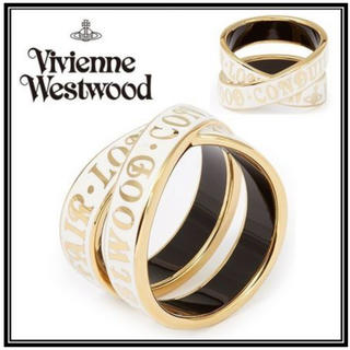 ヴィヴィアンウエストウッド(Vivienne Westwood)のヴィヴィアンウエストウッド クロスリング(リング(指輪))