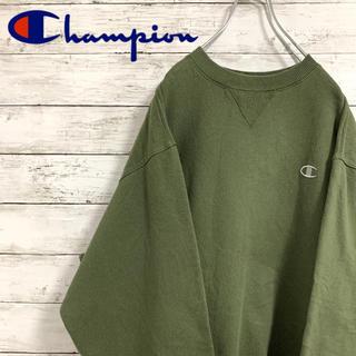 Champion - 古着 90s チャンピオン スウェット トレーナー 刺繍ロゴ 人気カラー
