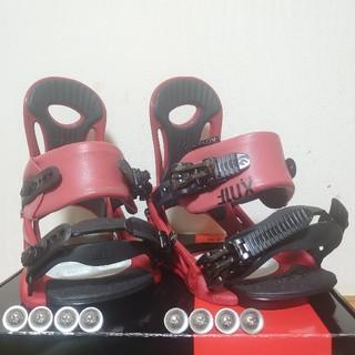 FLUX - FLUX PR 17-18 Sサイズ フラックス バインディング RED