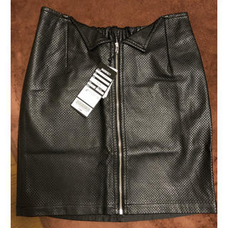 メゾンギルフィー(MAISON GILFY)のMAISON GILFY  スカート  (ブラック)(ミニスカート)