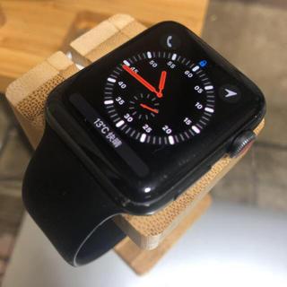 アップルウォッチ(Apple Watch)のApplewatch3 42mm セルラーモデル(腕時計(デジタル))