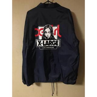 エクストララージ(XLARGE)の激レア XLARGE X-girl コーチジャケット(ナイロンジャケット)