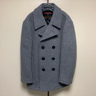 マックレガー(McGREGOR)の美品 マックレガー 中綿入りPコート McGregor グレー(ピーコート)