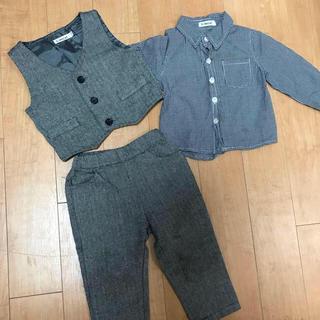 アカチャンホンポ(アカチャンホンポ)のKimocat キッズ セットアップ 美品 スーツ ベスト フォーマルスーツ(ドレス/フォーマル)