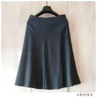 ADORE - ◆幻◆ 希少美品 定価3.7万円 ADORE プレミアムスムースフレアスカート