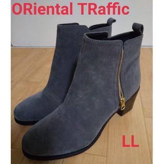 ORiental TRaffic - ORiental TRafficサイドジップブーツ LL グレー