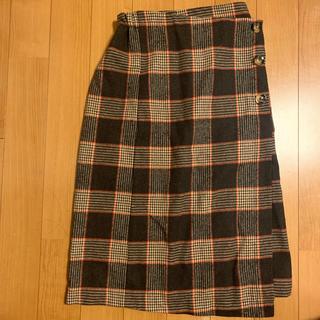 ウィゴー(WEGO)のチェック柄ロングスカート(ロングスカート)
