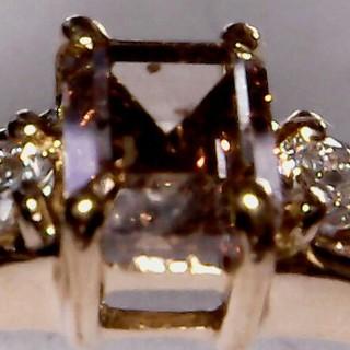 ブラウンダイヤモンドリング 15号 K18  0.56ct さらにお値下げ(リング(指輪))