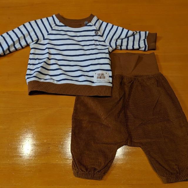 H&M(エイチアンドエム)の未使用☆セットアップ パンツ プルオーバー H&M キッズ/ベビー/マタニティのベビー服(~85cm)(パンツ)の商品写真
