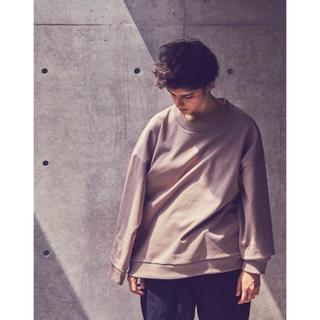 ジエダ(Jieda)のBlanc YM | Coating Sweat Shirt (BEIGE)(スウェット)