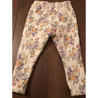Disney - ミニーちゃん 裏起毛 ズボン 80