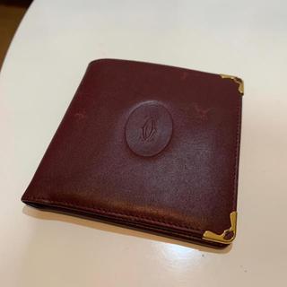 カルティエ(Cartier)のカルティエ 折り財布 正規品(折り財布)
