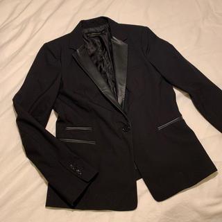 ザラ(ZARA)のブラック ジャケット(テーラードジャケット)