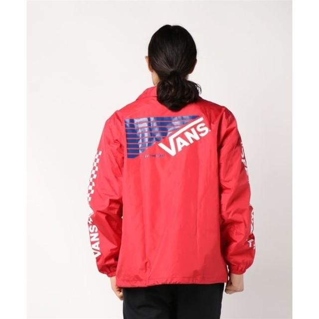 VANS(ヴァンズ)の 定11880円即完売!VANS新品コーチジャケット!ZOZO完売赤!希少XL! メンズのジャケット/アウター(ナイロンジャケット)の商品写真
