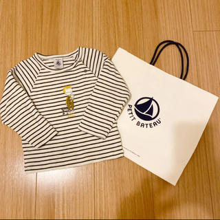 PETIT BATEAU - プチバトー☆カットソー80〜