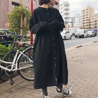 Ungrid - 起毛ワンピース bl