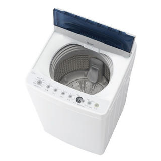 Haier - JW-C45D-W 全自動洗濯機 ホワイト洗濯4.5kg /乾燥機能無 /上開き