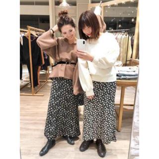 Kastane - 【新品】小花柄マーメイドスカート