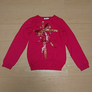 H&M - H&M 子供セーター  ピンク色  120~130サイズ位