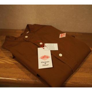 DANTON - Danton オックスフォードバンドカラーシャツ