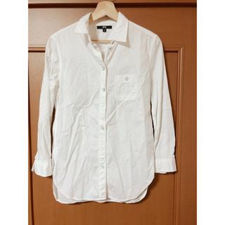 UNIQLO - ユニクロ&レディースホワイトシャツ