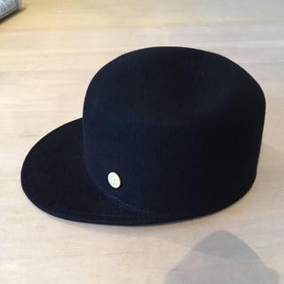ESTNATION - YOSUZI エストネーション 完売 ハット 帽子 新品 ブラック ラビット