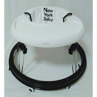 カトージ(KATOJI)の【美品】KATOJI 歩行器 NEW YORK BABY ベビーウォーカー(歩行器)