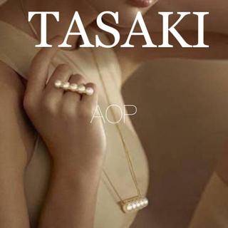 TASAKI - TASAKI バランスシグネチャー リング ネックレス