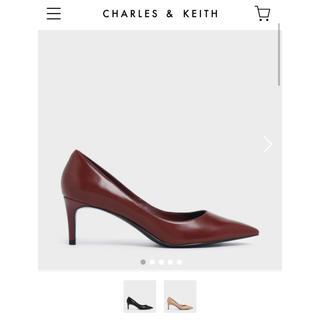 チャールズアンドキース(Charles and Keith)のcharles and keith パンプス(ハイヒール/パンプス)