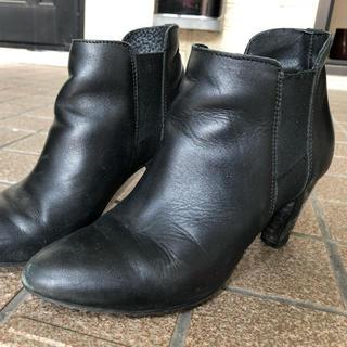 ビームス(BEAMS)の黒 ブーツ(ブーツ)