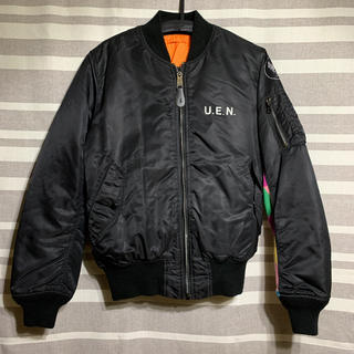 uniform experiment - uniform experiment MA-1 サイズM カラーチャート袖