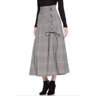 snidel - snidel ロングスリットスカート