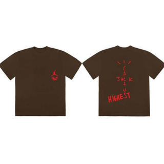ナイキ(NIKE)の2XL travis scott jordan highest Tシャツ(Tシャツ/カットソー(半袖/袖なし))