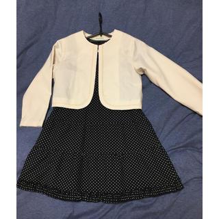 サンカンシオン(3can4on)のsize→120   女の子フォーマルワンピースボレロセット(ドレス/フォーマル)
