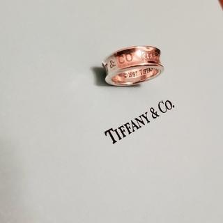 ティファニー(Tiffany & Co.)のティファニー 1837 ナローリング USED お箱等なしの発送です(リング(指輪))