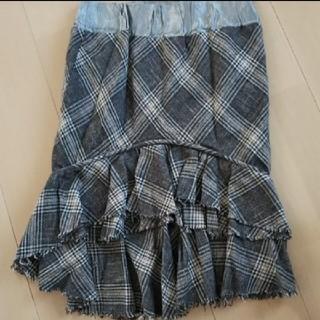 スコットクラブ(SCOT CLUB)のメトリーゼ  チェック 膝丈スカート  (ひざ丈スカート)