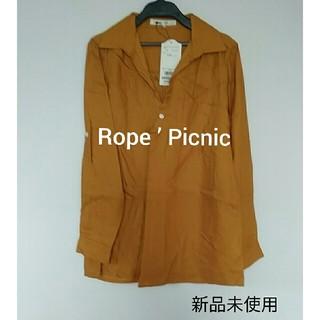 ロペピクニック(Rope' Picnic)の新品未使用 ロペピクニック チュニックシャツ(シャツ/ブラウス(長袖/七分))