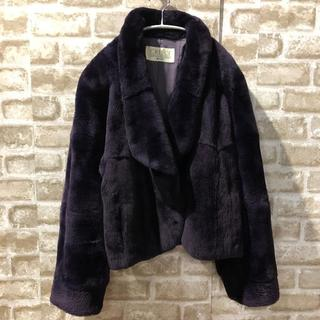 【CRESCE】高級 ミンク ショートコート Mサイズ(毛皮/ファーコート)