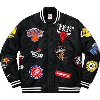 Supreme - 正規品★Supreme×nike NBA Jacket BOX north M