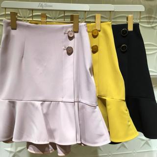 Lily Brown - ラップ風裾フレアスカート