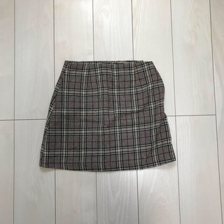 dholic - dholic ZARA チェックスカート ミニスカート