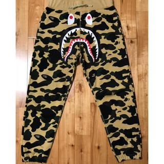 アベイシングエイプ(A BATHING APE)のWINDSTOPPER シャークパンツ BAPE shark pants ベイプ(ワークパンツ/カーゴパンツ)