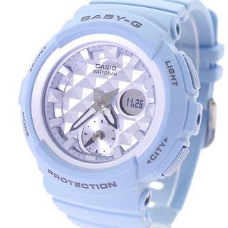 ベビージー(Baby-G)のカシオ CASIO 腕時計 レディース  BABY-G クォーツ スカイブルー(腕時計)