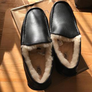 UGG - UGG ugg ascot leather アグ アスコット レザーUS10